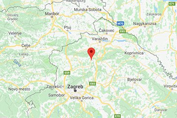 lokacija kurije pl. Belošević