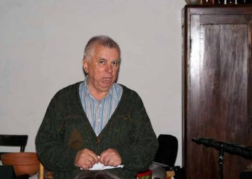 Predsjednik Anto Mlinar pozdravlja skup